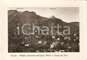 1950 ca VARESE Panorama con SACRO MONTE  e Campo dei Fiori *Cartolina FG VG