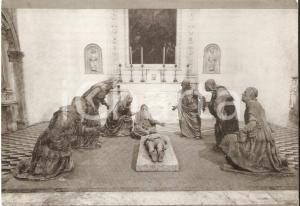 1960 ca NAPOLI Sant'Anna dei Lombardi - Pietà di Pietro MAZZONI *Cartolina FG NV