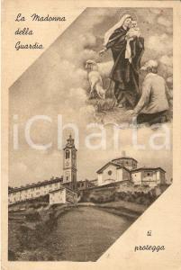 1950 ca CERANESI (GE) Basilica NOSTRA SIGNORA DELLA GUARDIA *Cartolina FG VG