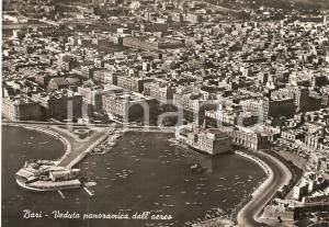 1960 BARI Veduta panoramica dall'aereo *Cartolina FG NV