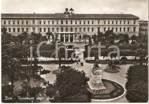 1955 BARI Panorama CITTA' DEGLI STUDI *Cartolina FG VG