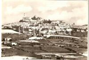 1965 VIGNALE MONFERRATO (AL) Panorama del paese *Cartolina FG VG