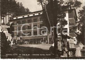1954 CASTELLAMMARE DI STABIA (NA) Grande Hotel Monte FAITO *Cartolina FG VG