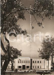 1955 ca CALTANISSETTA Antenna della Stazione RAI *Cartolina FG NV