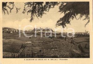 1954 SAN DAMIANO AL COLLE (PV) Panorama del paese *Cartolina FG VG