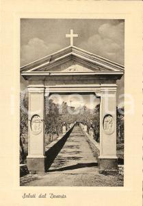 1957 SANT'AGATA SUI DUE GOLFI (NA) Via Crucis dal DESERTO *Cartolina FG VG