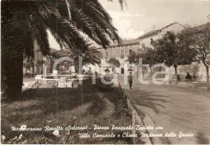 1972 MONTECORVINO ROVELLA Piazza Pasquale BUDETTA Villa Comunale Cartolina FG VG