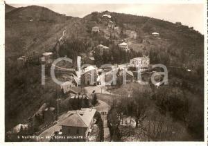 1950 BRUNATE Panorama della Frazione SAN MAURIZIO *Cartolina FG VG