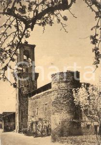 1954 DERUTA (PG) Frazione CASALINA Chiesa Parrocchiale *Cartolina FG VG