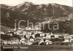 1961 ROCCARASO (AQ) Panorama del paese *Cartolina FG VG