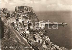 1954 SCILLA (RC) Castello sul mare - Panorama *Cartolina FG VG