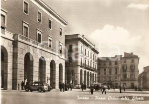 1956 TERAMO Piazza Caduti della Libertà *Cartolina FG VG