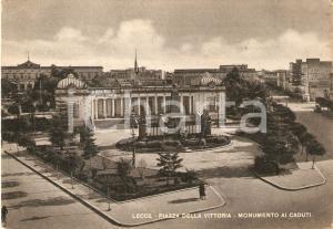 1950 LECCE Monumento ai Caduti in Piazza della Vittoria *Cartolina FG VG