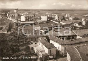 1953 GORLA MAGGIORE Veduta con tabacchi e torre dell'acquedotto *Cartolina FG VG
