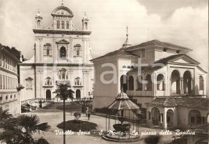 1961 VARALLO SESIA (VC) Piazza della Basilica del SACRO MONTE *Cartolina FG VG