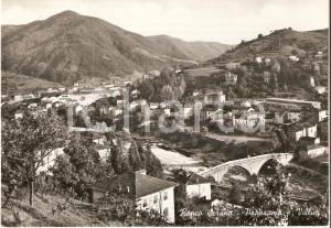 1955 RONCO SCRIVIA (GE) Panorama con villini *Cartolina FG VG