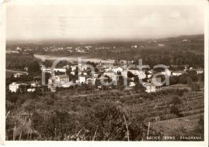 1941 SALICE TERME (PV) Panorama dl paese *Cartolina FG VG