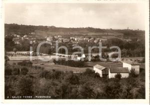 1941 SALICE TERME (PV) Panorama del paese *Cartolina FG VG