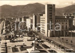 1959 LA SPEZIA Panorama con Palazzo Comunale *Cartolina FG VG