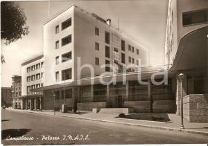 1960 ca CAMPOBASSO Palazzo INAIL Panorama *Cartolina FG VG