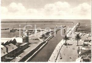 1950 ca VIAREGGIO (LU) Panorama del molo *Cartolina FG VG