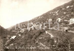 1956 SCALA (SA) Panorama con TORRE ZIRO *Cartolina FG VG