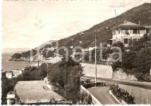 1960 SORI - LA CONTRA (GE) Villa Le Rondini - Panorama *Cartolina FG VG