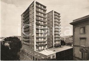 1960 ca LIVORNO Il grattacielo di Via Marradi - Panorama *Cartolina FG VG