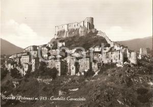 1955 ca BRIENZA (PZ) Panorama con CASTELLO CARACCIOLO *Cartolina FG NV
