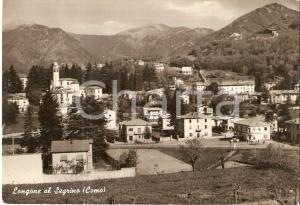 1967 LONGONE AL SEGRINO (CO) Panorama del paese *Cartolina FG VG