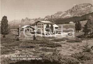 1965 PASSO DI LAVAZE' (TN) Albergo con CATINACCIO e LATEMAR *Cartolina FG VG
