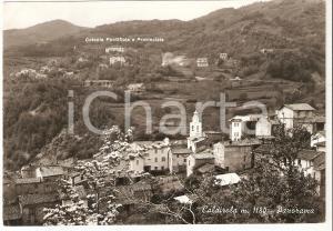 1956 FABBRICA CURONE Frazione CALDIROLA Colonia Pontificia *Cartolina FG VG