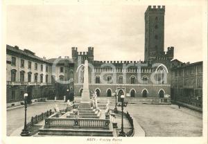 1950 ca ASTI Piazza Roma - Panorama *Cartolina FG NV