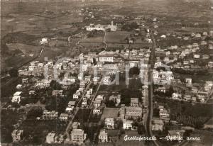 1965 GROTTAFERRATA (RM) Veduta aerea del paese *Cartolina FG VG