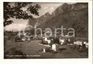 1953 BALLABIO INFERIORE (CO) Panorama del paese - VALSASSINA *Cartolina FG VG