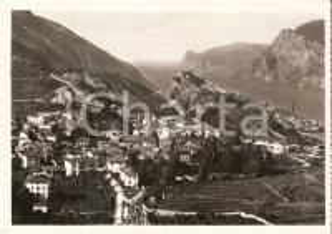 1954 NAGO - TORBOLE (TN) Panorama con Lago di Garda *Cartolina FG VG