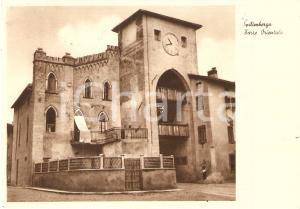1949 SPILIMBERGO (PN) La Torre Orientale - Panorama *Cartolina FG VG