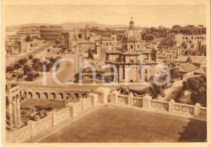 1951 ROMA La Città Eterna vista da una terrazza *Cartolina FG VG
