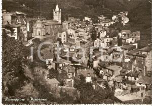 1950 ca RIOMAGGIORE (SP) Veduta aerea del paese *Cartolina FG NV