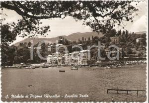 1967 RAPALLO Frazione SAN MICHELE DI PAGANA Località PRELO *Cartolina FG VG