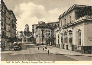 1951 NAPOLI Via Morghen - Funicolare di MONTESANTO VOMERO *Cartolina FG NV