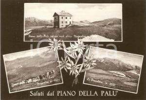 1955 ca PIANO DELLA PALU' (BG) Presolana e Rifugio MAGNOLINI *Cartolina FG NV