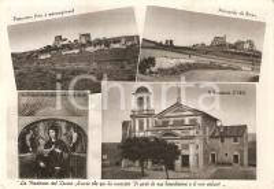 1955 ROMA Vedutine Santuario Madonna del DIVINO AMORE *Cartolina FG VG
