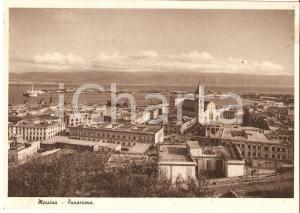 1940 MESSINA Veduta aerea della città *Cartolina FG VG