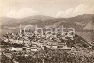 1956 TEGGIANO (SA) Panorama del paese *Cartolina FG VG