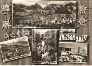 1960 LIMONE PIEMONTE (CN) Frazione LIMONETTO Vedutine Albergo Nazionale *FG VG