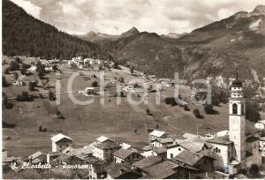 1972 SANTA ELISABETTA (AG) Panorama del paese *Cartolina FG VG