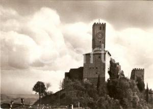 1958 GEMONA DEL FRIULI (UD) Panorama del Castello *Cartolina FG VG