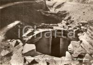 1960 ca VETULONIA (GR) Tomba etrusca IL DIAVOLINO *Cartolina FG VG