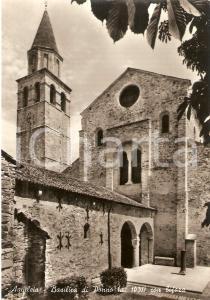 1955 ca AQUILEIA (UD) Basilica di POPPO con bifora *Cartolina FG NV